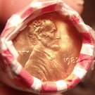 Unc Roll (50) Bank Wrapped United States 1982-P Large Date Lincoln Cents~Free Sh