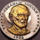Historic Mint Double Eagle Abraham Lincoln Commemorative Medallion~Free Shipping