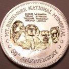 Historic Mint Double Eagle Mount Rushmore Commemorative Medallion~Free Ship