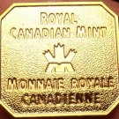Royal Canadian Mint Uncirculated Medallion~Bendable Clips On The Back~Fr/Ship