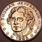 Historic Mint Double Eagle Thomas Jefferson Commemorative Medallion~Free Ship