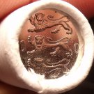 Gem Unc Original Roll (50 Coins) Estonia 2004 20 Senti Coins~3 Lions~Free Ship