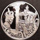 Rare Cameo Silver Proof Canada 2002 Dollar~29,688 Minted~50th Anniv~Free Ship