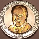 Historic Mint Double Eagle Franklin Roosevelt Commemorative Medallion~Free Ship