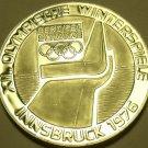 Silver Proof Austria 1974 100 Schilling~Olympics In Innsbruck~The Ski Jump~Fr/Sh
