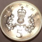 Scarce Great Britain 1979 5 Pence~Only 81k  Minted~Proofs Are The Best Coins~F/S