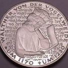 Cameo Proof Germany 1980-D 5 Mark~750th Anniversary/Death Von Der Vogelweide~F/S
