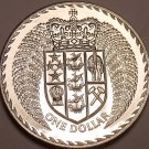 Proof New Zealand 1979 Dollar~Only 85,000 Minted~We Have NZ Coins~Free Shipping