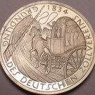 Cameo Proof Germany 1984-D 5 Mark~German Customs Union~Horse And Carriage~Fr/Shi