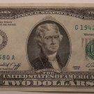 United States Series 1976 Unc $2.00 Bicentennial Note~Chicago~Awesome~Free Ship