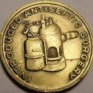 Unc Joseph Lister Medallion~Intruduced Antiseptic Surgery~Awesome~Free Shipping