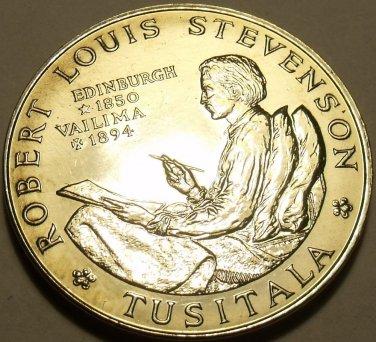 Massive Unc Samoa 1969 Tala~75th Anniv Death of Robert Louis Stevenson~Free Ship