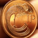 Gem Unc Ireland 2000 Penny~Irish Harp~Bird From The Book Of Kells~Free Shipping