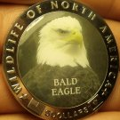 Proof Liberia 2000 $5.00~Multi-Colored Bald Eagle~Excellent~Free Shipping