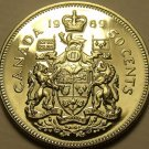 Proof Canada  1969 50 Cents~Proof Coins Are The Mints Best Work~Free Shipping