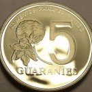 Extremely Rare F.A.O. Proof Paraguay 1980 5 Guaranies~1,000 Minted~Free Ship