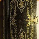 Rare 1855 Lippencott Grambo Pocket Bible~Old & New Testament~1025 Pages~FR/Ship