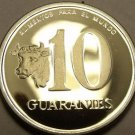Extremely Rare F.A.O. Proof Paraguay 1980 10 Guaranies~1,000 Minted~Free Ship