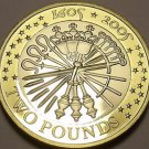 Rare Bi-Metal Proof Great Britain 2005 2 Pounds~Gunpowder Plot~5th Of Nov~Fr/Shi
