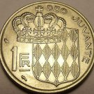 Gem Unc Monaco 1960 Franc~1st Year Ever Minted~Free Shipping*