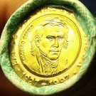 Gem Unc Original Roll (20) Ecuador 1997 1,000 Sucres~Bimetal~70th Anniversary~FS