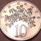 Rare Proof Jamaica 1976 10 Cents~Butterfly~24,000 Minted~Excellent~Free Shipping