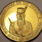 Large 34mm Unc Cheboygan Michigan Centennial Medallion~The Chronicle~Free Ship