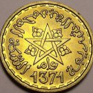 Gem Unc Morocco AH-1371 (1952) 10 Francs~Excellent~Free Shipping