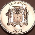 Rare ProofJamaica 1972 10 Cents~Lignum Vitale~17,000 Minted~Free Shipping