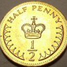 Gem Unc Great Britain 1983 Half Penny~A Royal Crown~Semi-Key Date~Free Shipping