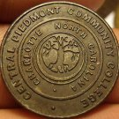 Central Piedmont Community College Charlotte North Carolina Medallion~CPCC~Fr/Sh