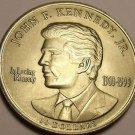 Gem Unc John F. Kennedy In Loving Memory Liberia $10.00~Free Shipping