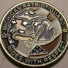 Massive 44.5mm Michigan Patroit Guard Honors Those Stood The Line Of Freedom~FS