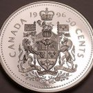 Gem Cameo Proof Canada 1996 50 Cents~We Have Canadian Proof Coins~Free Shipping