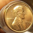 Unc Roll (50) United States 1972-S Lincoln Memorial Cents~Free Shipping