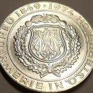 Gem Unc Silver Austria 1974 50 Schilling~125th Anniv Austrian Police Force~Fr/Sh