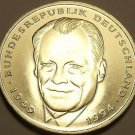 Proof Germany 1999-D 2 Marks~Willy Brandt~Only 70,000 Minted~Free Shiping