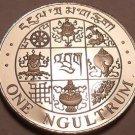 Rare Proof Bhutan 1979 Ngultrum~Incredible Symbols~20,000 Minted~Free Shipping