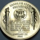Gem Unc John F. Kennedy Inaugurated President Medallion~Excellent~Free Shipping