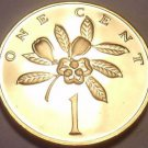 Rare Proof Jamiaca 1973 Cent~Ackee Fruit~Only 28,000 Minted~See Our Proofs~Fr/Sh