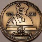 Gem Unc Lennox 120th Year Anniversary Medallion~Awesome~Free Shipping