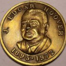 Gem Uncirculated J. Edgar Hoover Friends Of The F.B.I. Medallion~Free Shipping