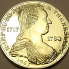 Rare Silver Proof Austria 1967 25 Schilling~Only 28,000 Minted~Maria Theresa~F/S