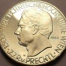 Rare Silver Proof Austria 1965 25 Schilling~37,000 Minted~Vienna Tech School~F/S