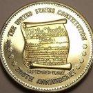 Historic Mint Double Eagle U.S. Constitution Commemorative Medallion~Free Ship
