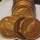Gem Unc Roll (50) Gibraltar 1996 Penny's~Barbary Partridge~Free Ship