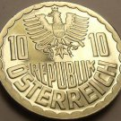 Proof Austria 1983 10 Groschen~Only 65,000 Minted~Imperial Eagle~Free Shipping