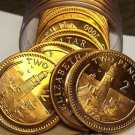 Gem Unc Roll (20) Gibraltar 2000 2 Pence~Light House On Europa Pointe~Free Ship