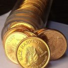 Gem Unc Roll (40 Coins) Guyana 1996 Dollars~Only Year~Rice Harvest~$40~Free Ship