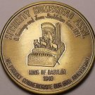 Gem Unc Security Homestead Assn. 80th Anniversary Medallion~THE BIG ONE~Fr/Ship